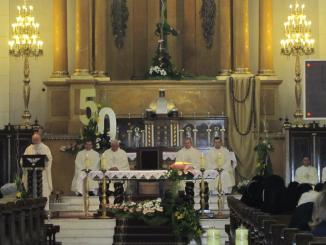 50 lat obecności w parafii Najświętszego Zbawiciela w Warszawie i 130 lat istnienia Zgromadzenia Córek Matki Bożej Bolesnej