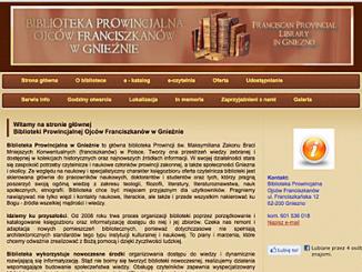 """Strona pod adresem www.library.franciszkanie.pl zawiera bogatą informację o samej bibliotece, udostępnianiu, ofercie, a także sporą bazę darmowych e-booków, czasopism, książek polskich i zagranicznych, ze szczególnym <a class=""""mh-excerpt-more"""" href=""""https://www.zyciezakonne.pl/wiadomosci/kraj/nauka-biblioteka-w-gnieznie-on-line-10380/"""" title=""""Nauka: Biblioteka w Gnieźnie on-line"""">[...]</a>"""