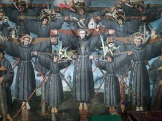 """Episkopat Japonii zabiega o ożywienie kultu 26 męczenników z 1597 r. W liturgii są oni znani jako św. Paweł Miki i towarzysze. W tym roku <a class=""""mh-excerpt-more"""" href=""""https://www.zyciezakonne.pl/wiadomosci/swiat/japonia-pierwszy-szlak-pielgrzymkowy-%e2%80%93-sladami-meczennikow-14033/"""" title=""""Japonia: pierwszy szlak pielgrzymkowy – śladami męczenników"""">[...]</a>"""