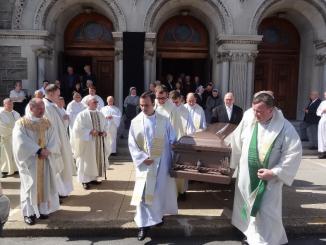 W kościele pw. Różańca Świętego w Baltimore odbyły się uroczystości pogrzebowe naszego współbrata śp. ks. Leszka Wedziuka, chrystusowca, który posługiwał w tej parafii jako wikariusz.