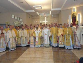 W dniach 28 – 31 maja w naszym domu rekolekcyjno-wypoczynkowym SCALA w Rowach swoje rekolekcje kapłańskie przeżywało duchowieństwo obu eparchii Ukraińskiego Kościoła Grekokatolickiego w Polsce.