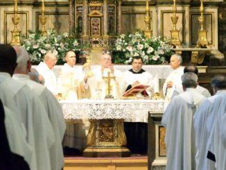 """""""Niespokojne jest nasze serce, dopóki nie spocznie w Tobie"""". Te słowa św. Augustyna stanowiły myśl przewodnią papieskiej homilii w czasie liturgii rozpoczynającej kapitułę generalną augustianów."""