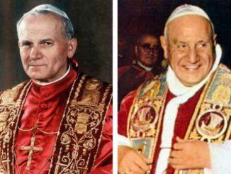 """27 kwietnia przyszłego roku odbędzie się kanonizacja Jana XXIII i Jana Pawła II. Datę, o której mówiono już od dawna, uroczyście ogłosił podczas konsystorza Papież <a class=""""mh-excerpt-more"""" href=""""http://www.zyciezakonne.pl/wiadomosci/swiat/27-kwietnia-kanonizacja-jana-xxiii-i-jana-pawla-ii-34088/"""" title=""""27 kwietnia kanonizacja Jana XXIII i Jana Pawła II"""">[...]</a>"""