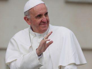 Papież Franciszek (fot. Grzegorz Gałązka : galazka.deon.pl)