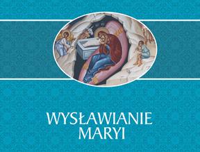 """fragment okładki książki """"Wysławianie Maryi"""""""