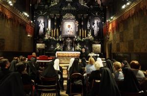 Nocne czuwanie na Jasnej Górze Sióstr Opatrzności Bożej