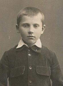 Tadeusz Ślipko w okresie dzieciństwa (Fot. prywatne archiwum T. Ślipko SJ)