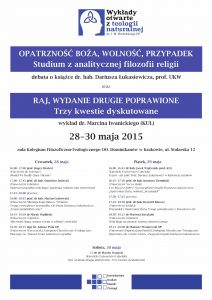 Wykłady Bocheńskiego - program 2015