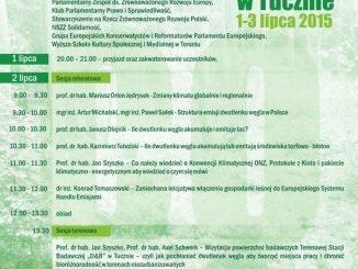 Wyższa Szkoła Kultury Społecznej i Medilanejzainspirowana Encykliką Papieża FranciszkaLaudato siprzy współpracy z innymi instytucjami wPolsce zaprasza do właczenia się w dyskusję nad integralną ekologią.