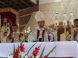 W niedzielę, 14 czerwca br. przeżywaliśmy 50-lecie koronacji Obrazu Matki Bożej Góreckiej oraz uroczyste ogłoszenie nadania tytułu Bazyliki Mniejszej kościołowi NMP Niepokalanie Poczętej.