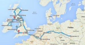 Niniwa Team już 3 sierpnia wyruszy w swoją kolejną wyprawę – tym razem celem będą Wyspy Brytyjskie. Zespół zaprezentował dziś mapę z planowaną trasą.
