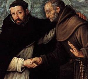 Franciszkanie u dominikanów