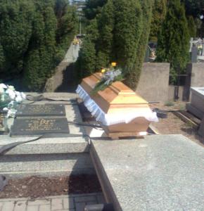 Pogrzeb o. J. Pacuszki CP