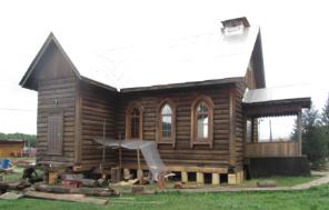 Wierszyna na Syberii (Rosja) - remont kościoła