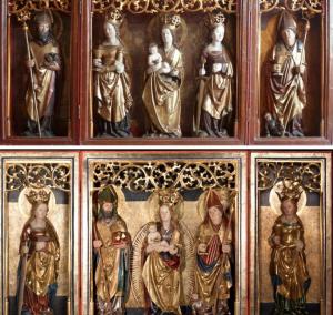 Biuletyn po konserwacji w 1981 r. (u góry) i w 2015 r. (u dołu)