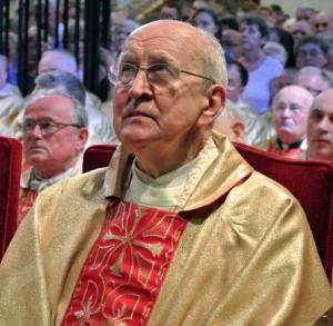 Kaplica Matki Bożej. Złoty jubileusz kapłaństwa o. Zachariasza Jabłońskiego, 28 czerwca 2014 r.
