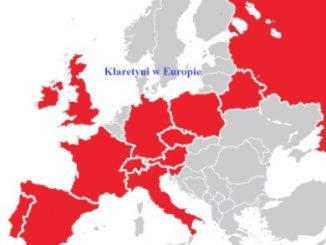 """W dniach od 30 listopada do 3 grudnia 2015 roku w Rzymie odbywa się zebranie klaretyńskich Wyższych Przełożonych i Zarządu Generalnego. Jest to już kolejne <a class=""""mh-excerpt-more"""" href=""""https://www.zyciezakonne.pl/wiadomosci/swiat/reorganizacja-misjonarzy-klaretynow-w-europie-55298/"""" title=""""Reorganizacja Misjonarzy Klaretynów w Europie"""">[...]</a>"""
