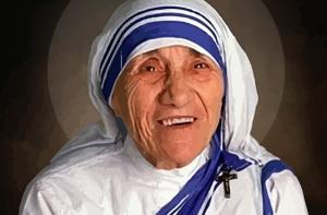 (Matka Teresa z Kalkuty / fot. AJ)