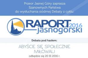 Raport Jasnogórski 2016
