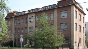 Budynek starego szpitala dziecęcego w Miszkolcu, na Węgrzech