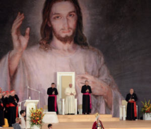 Ceremonia powitalna papieża Franciszka na krakowskich BłoniachFoto: PAP/Jacek Turczyk