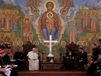 """Tak jak święci Piotr i Andrzej, apostołowie Rzymu i Gruzji, potrafili zostawić wszystko i stać się rybakami ludźmi, tak i my przyjmijmy wezwanie Jezusa i <a class=""""mh-excerpt-more"""" href=""""https://www.zyciezakonne.pl/wiadomosci/swiat/papiez-do-patriarchy-wzniesmy-sie-ponad-nieporozumienia-kalkulacje-i-leki-63642/"""" title=""""Papież do Patriarchy: wznieśmy się ponad nieporozumienia, kalkulacje i lęki"""">[...]</a>"""