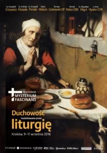 Kraków: Rekolekcje Mysterium fascinans o duchowości liturgicznej