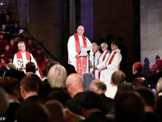 W homilii wygłoszonej w katedrze w Lund Franciszek nawiązał do przypowieści Chrystusa o winnym krzewie (J 15). Przypominając Jego słowa