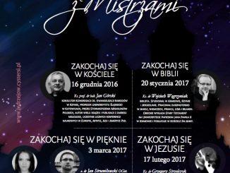 Wieczory z Mistrzami to nowa inicjatywa jędrzejowskich cystersów.