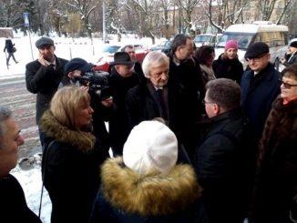 W sobotę 3 grudnia 2016 r. parlamentarna grupa porozumienia polsko-ukraińskiego udała się na konferencję na Uniwersytecie Lwowskim.