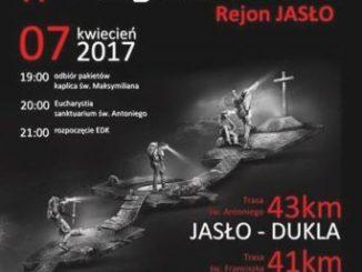 """7 kwietnia 2017 r. już po raz drugi w rejonie Jasło wyruszy Ekstremalna Droga Krzyżowa. Ma ona charakter indywidualny, tzn., że podczas przejścia wybraną trasą <a class=""""mh-excerpt-more"""" href=""""http://www.zyciezakonne.pl/wiadomosci/kraj/jaslo-ekstremalna-droga-krzyzowa-67668/"""" title=""""Jasło. Ekstremalna Droga Krzyżowa"""">[...]</a>"""