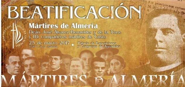 """W andaluzyjskim mieście Almería na południu Hiszpanii wyniesionych zostało do chwały ołtarzy kolejnych 115 męczenników XX wieku. Chodzi o 95 kapłanów i 20 świeckich, którzy <a class=""""mh-excerpt-more"""" href=""""http://www.zyciezakonne.pl/wiadomosci/swiat/almeria-115-blogoslawionych-hiszpanskich-meczennikow-xx-67603/"""" title=""""Almería: 115 błogosławionych hiszpańskich męczenników XX w."""">[...]</a>"""