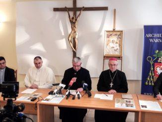 W Kurii Warmińskiej odbyła się konferencja prasowa związana z jubileuszem 140. rocznicy objawień Matki Bożej w Gietrzwałdzie i 50. rocznicy koronacji Jej obrazu koronami papieskimi.