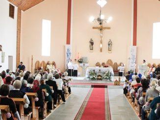 Dnia 17 czerwca br. wkościele klasztornym wSłucku na Białorusi odbyły się uroczystości jubileuszowe 25-lecia odrodzenia parafii św.Antoniego zPadwy.
