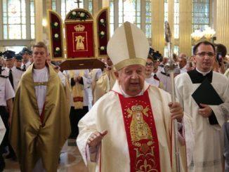 Kard. Stanisław Dziwisz, arcybiskup senior archidiecezji krakowskiej, przewodniczył uroczystej Mszy św. w uroczystość Wniebowzięcia Najświętszej Maryi Panny w licheńskiej bazylice (15.08).