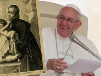 Na św. Stanisława Kostkę jako wzór konsekwentnego podążania za głosem powołania otrzymanego od Boga wskazał Franciszek pielgrzymom polskim podczas dzisiejszej audiencji ogólnej.