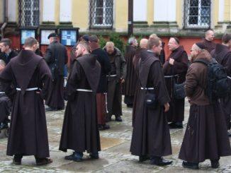 W poniedziałek, 25 września br., bracia mniejsi prowincji św. Jadwigi Śląskiej pielgrzymowali do grobu swojej patronki w Trzebnicy.