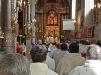 Już po raz 67 w Kaliszu odbyło się zawierzenie Polskich Prowincji Towarzystwa Jezusowego opiece świętego Józefa.