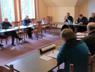 W ostatnich dniach odbyło się kolejne spotkanie Zarządu naszej prowincji z Przełożonymi lokalnymi (Przełożonymi wspólnot), czyli Superiorami.