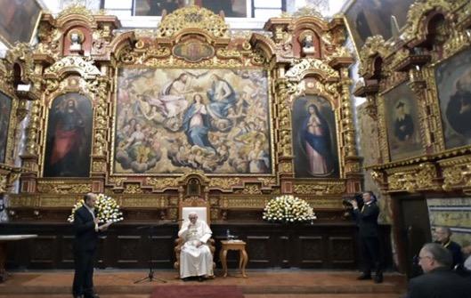 Podczas wizyty Franciszka w Peru nie mogło zabraknąć spotkania z jego zakonnymi współbraćmi.