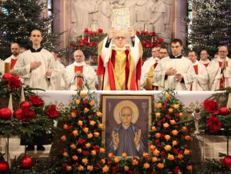"""Święty Wincenty Pallotti, założyciel Zjednoczenia Apostolstwa Katolickiego to postać wspominana 22 stycznia. Głównym obchodom uroczystości celebrowanym w pallotyńskiej wspólnocie w Ołtarzewie, przewodniczył J.E. ks. abp <a class=""""mh-excerpt-more"""" href=""""http://www.zyciezakonne.pl/wiadomosci/kraj/uroczystosc-ku-czci-zalozyciela-pallotynow-74413/"""" title=""""Uroczystość ku czci Założyciela pallotynów"""">[...]</a>"""