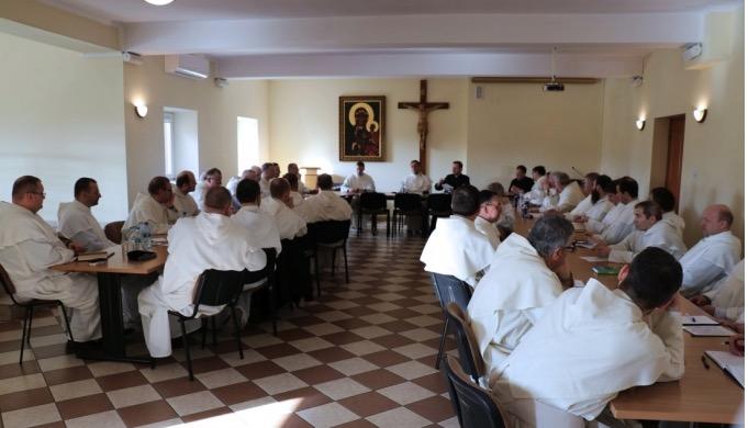 Przeorowie klasztorów paulińskich z Polski oraz zagranicy przybyli na Jasną Górę.