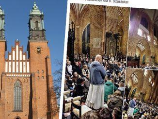 Wiernych było tak dużo, że nie zmieścili się w poznańskiej katedrze. Wielu z nich musiało stać na zewnątrz, marznąć na kilkustopniowym mrozie.