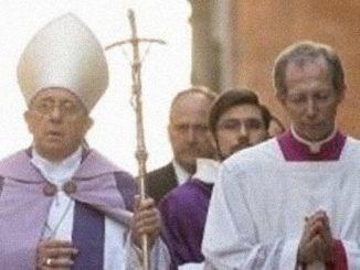 U dominikanów na rzymskim Awentynie.