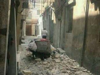 Damaszek, stolica Syrii, przeżywa niezwykle trudną sytuację.
