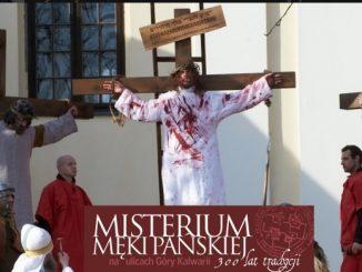 Dziesiątki aktorów-amatorów przedstawią w najbliższą sobotę Misterium Męki Pańskiej w Górze Kalwarii u marianów.