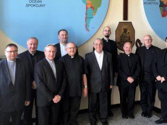 W Domu Głównym Towarzystwa Chrystusowego dla Polonii Zagranicznej w Poznaniu 23 maja odbyło się spotkanie Zarządu Generalnego Zgromadzenia z przełożonymi prowincji z całego świata.