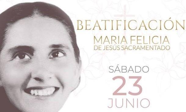 """W sobotę 23 czerwca w Asunciòn – stolicy Paragwaju, odbędzie się beatyfikacja s. Marii Felicji od Jezusa Eucharystycznego, młodej karmelitanki bosej, zwanej zdrobniale """"Chiquitungą"""" (Maleńką)."""