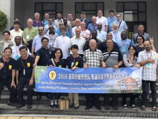 """W drugiej połowie czerwca 2018 roku odbyło się spotkanie kamiliańskich prowincjałów z Konsultą Generalną Zakonu Posługujących Chorym. Tegoroczne obrady odbyły się na Tajwanie i prawie <a class=""""mh-excerpt-more"""" href=""""https://www.zyciezakonne.pl/wiadomosci/swiat/spotkanie-kamilianskich-prowincjalow-na-tajwanie-77714/"""" title=""""Spotkanie kamiliańskich Prowincjałów na Tajwanie"""">[...]</a>"""