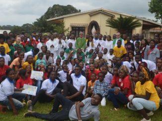 Jaspama – tak nazwaliśmy afrykańskie Marianki. Oznaczają one spotkanie młodych z parafii, gdzie pracują marianie oraz młodych przyjaciół Zgromadzenia.